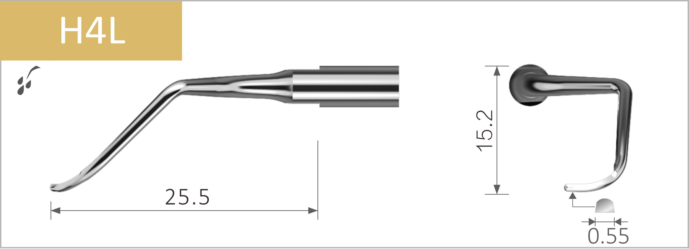 Kompatible Spitzen für SATELEC Scaler
