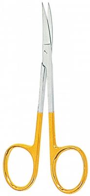Iris-Schere TC, gebogen - cm 11,5