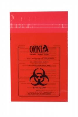 Beutel für kontaminiertem Abfall in Spenderbox