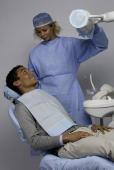 Patientenumhang mit Auffangtasche für Flüssigkeiten cm 38x54