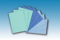 Plastifizierte Servietten 3-lagig Salvet cm 32.5x45 gelb