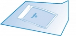 Sterilisationspapier cm 90x90 zum Verpacken von Instrumenten-Kits