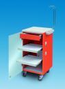 LC Implant Suite mit 2 ausziehbaren Fachböden und Schublade (Farbe Orange)