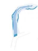 Bissüberzug für Röntgenapparat 5 x 8 cm - Transparent