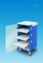 LC Implant Suite mit 3 ausziehbaren Fachböden (Farbe Blau)