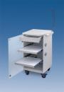 LC Implant Suite mit 2 ausziehbaren Fachböden und Schublade (Farbe Weiß)