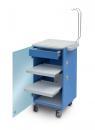 LC Implant Suite mit 2 ausziehbaren Fachböden und Schublade (Farbe Blau)