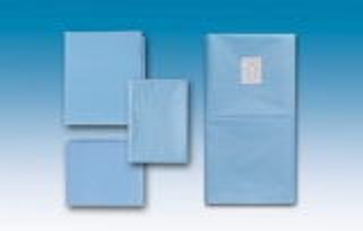 Abdecktuch cm 100x150 - flüssigkeitsabweisend Hellblau