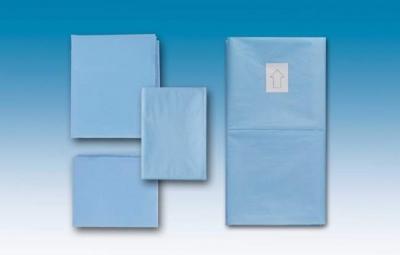 Abdecktuch cm 50x75 - flüssigkeitsabweisend Hellblau
